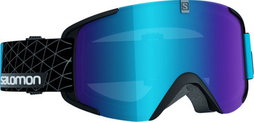 Salomon Xview Black + Blue Lens