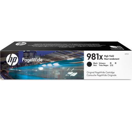 HP 981X Cartridge Zwart (L0R12A)