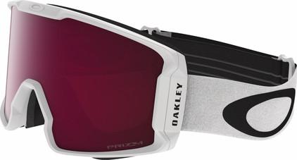 Oakley Line Miner White + Prizm Rose Lens