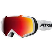 Atomic Revel Racing White + Red Lens