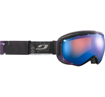 Julbo Atlas Black + Orange Blue Lens