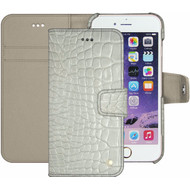 Noreve Tradition B Crocodile Leather Case Apple iPhone 7 Wit