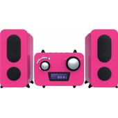 Bigben Microset Radio/CD Speler Roze