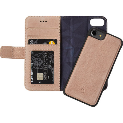 Image of Decoded Leather 2-in-1 Wallet Case Apple iPhone 6/6s/7 Rose Gold