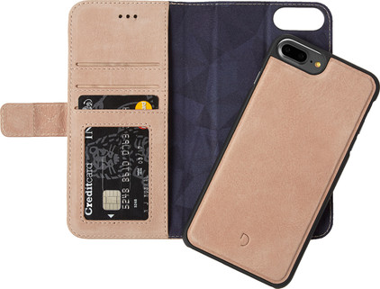 Decoded Leather 2-in-1 Wallet Case Apple iPhone 6 Plus/6s Plus/7 Plus Rose Gold