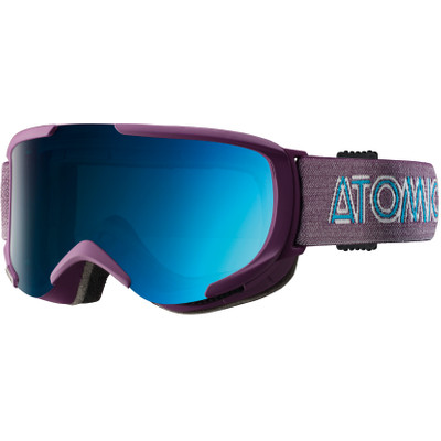 Image of Atomic Savor S ML Purple + Blue Lens