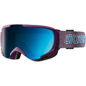 Atomic Savor S ML Purple + Blue Lens