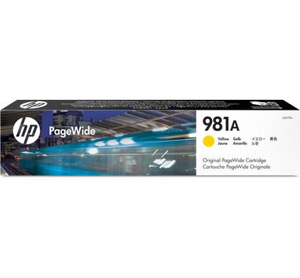 HP 981A Cartridge Geel (J3M70A)