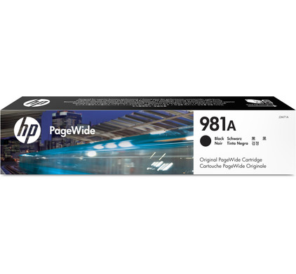 HP 981A Cartridge Zwart(J3M71A)