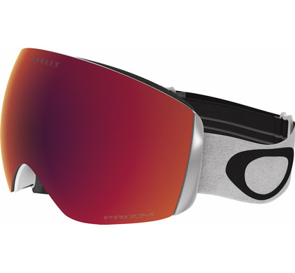 Oakley Flight Deck XM White + Prizm Torch Iridium Lens