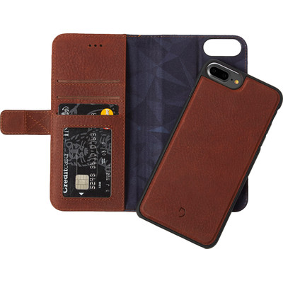 Image of Decoded Leather 2-in-1 Wallet Case Apple iPhone 6 Plus/6s Plus/7 Plus Bruin