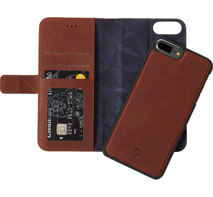 Decoded Leather 2-in-1 Wallet Case Apple iPhone 6 Plus/6s Plus/7 Plus Bruin