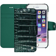 Noreve Tradition B Crocodile Leather Case Apple iPhone 7 Groen