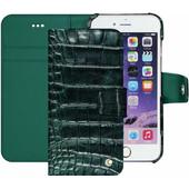 Noreve Tradition B Crocodile Leather Case Apple iPhone 7 Plus Groen