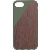 Native Union Clic Wooden Apple iPhone 7 Groen