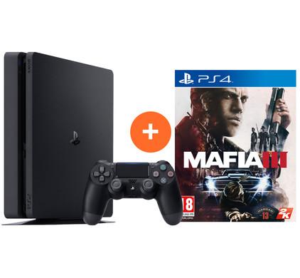 Sony PlayStation 4 Slim 1 TB + Mafia 3