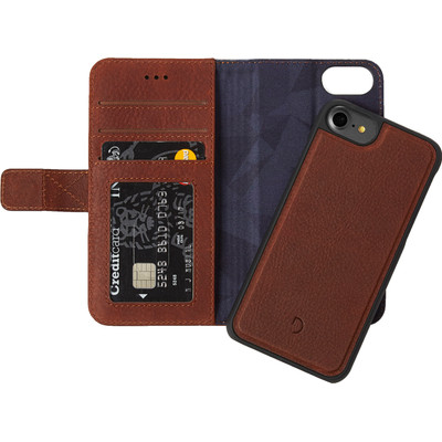 Image of Decoded Leather 2-in-1 Wallet Case Apple iPhone 6/6s/7 Bruin