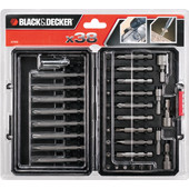 Black & Decker 38-delige bitset A7202-XJ