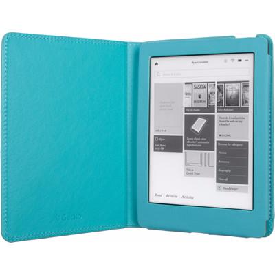 Image of Gecko - Luxe Beschermhoes Voor Kobo Aura Edition 2 (Blauw)