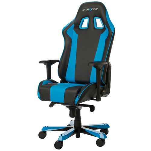 DX Racer KING Gaming Chair Zwart/Blauw