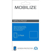 Mobilize Screenprotector Honor 8 Impact Proof Duo Pack