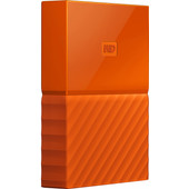 WD My Passport 4 TB Oranje