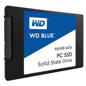 WD Blue SSD 250 GB 2.5 7mm 2,5 inch