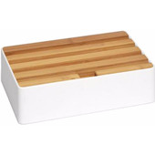 Alldock Docking Station Medium Wit Bamboe