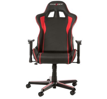voorkant FORMULA Gaming Chair Zwart/Rood