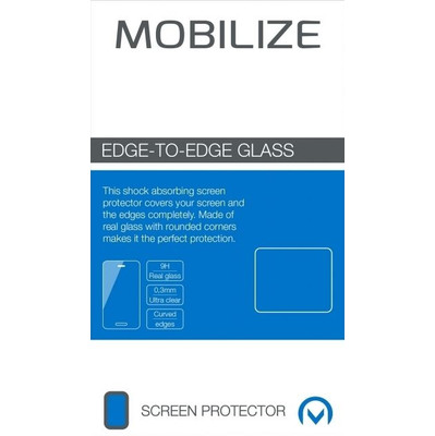 Mobilize Edge To Edge Glass Apple iPhone 7 Wit