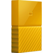 WD My Passport 4 TB Geel