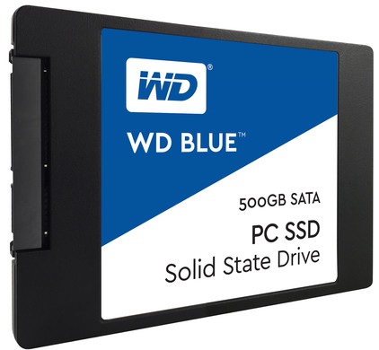 WD Blue SSD 500 GB 2,5 inch