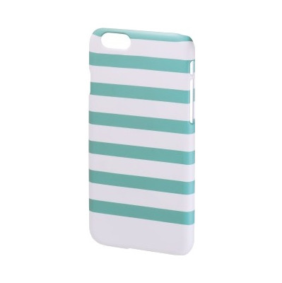 Hama Cover Stripes iPhone 6 munt/wit