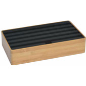 Alldock Docking Station Large Bamboe Zwart