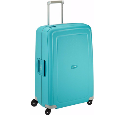 Samsonite S'Cure Spinner 75cm Aqua Blue - Coolblue