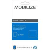 Mobilize Screenprotector Alcatel Shine Lite Impact Proof Duo Pack
