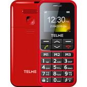 Emporia Telme C151 senioren telefoon Rood
