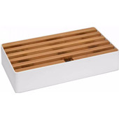 Alldock Docking Station Large Wit Bamboe