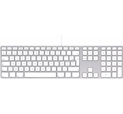 Apple Toetsenbord met numeriek toetsenblok Azerty
