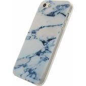 Xccess Stone TPU Case Apple iPhone 5/5S/SE Wit