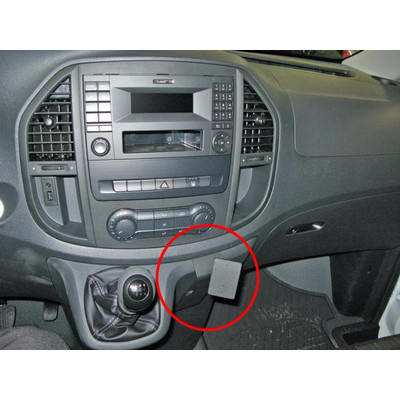 Image of Brodit Proclip Mercedes Benz Vito 2015