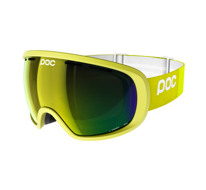 POC Fovea Hexane Yellow + Bronze Yellow Mirror Lens