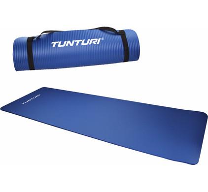 Tunturi Fitnessmat NBR Dark Blue 10 mm