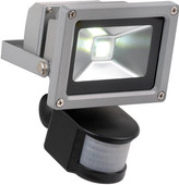 Lucide LED Flood 10 Watt met Bewegingssensor
