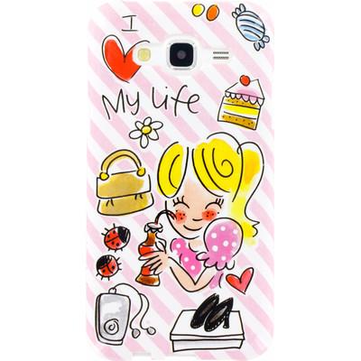 Image of Blond Amsterdam I Love My Life Softcase Samsung Galaxy J5