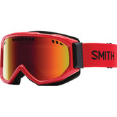 Smith Scope Pro White + Red Sol X Lens