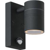 Lucide Arne Led Wandlamp Zwart met Bewegingssensor S