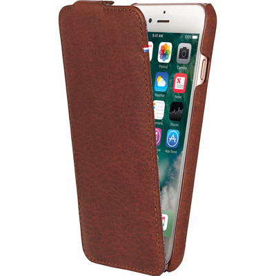 Image of Decoded Leather Flipcase iPhone 7/6/6s Bruin