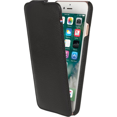 Image of Decoded Leather Flipcase iPhone 7/6/6s Zwart
