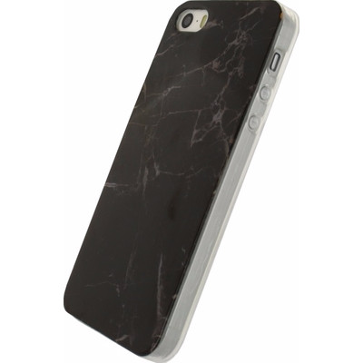 Xccess Stone TPU Case Apple iPhone 5/5S/SE Zwart